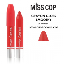 Smoothy Crayon Lipstick 10 Rouge Coquelicot