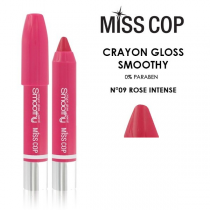 Smoothy Crayon Lipstick 09 Rose Intense