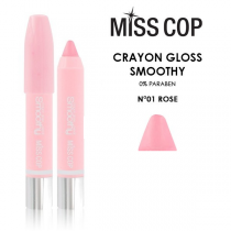 Smoothy Crayon Lipstick 01 Transparant