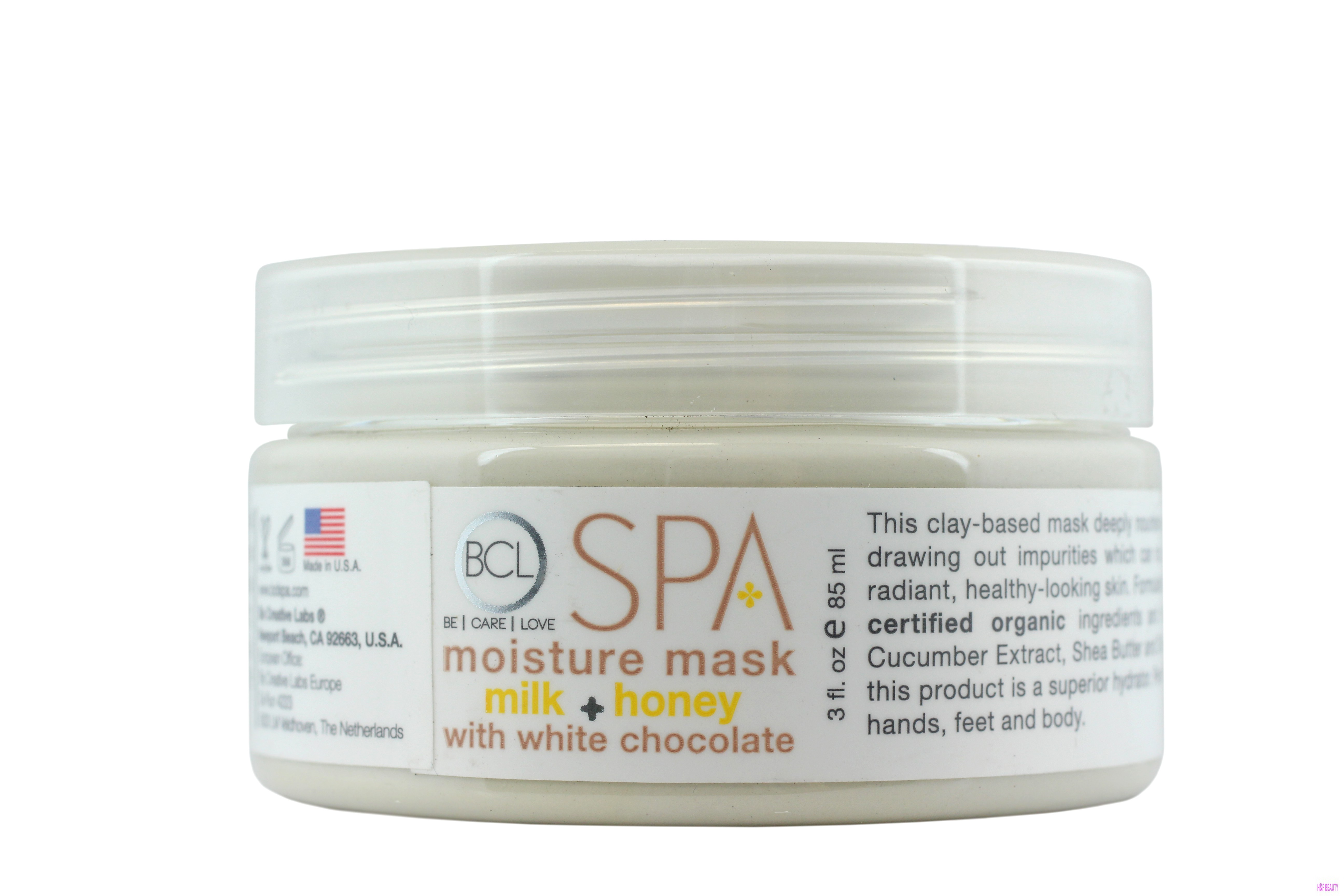 BCL Spa Milk + Honey with White Chocolat Moisture Mask