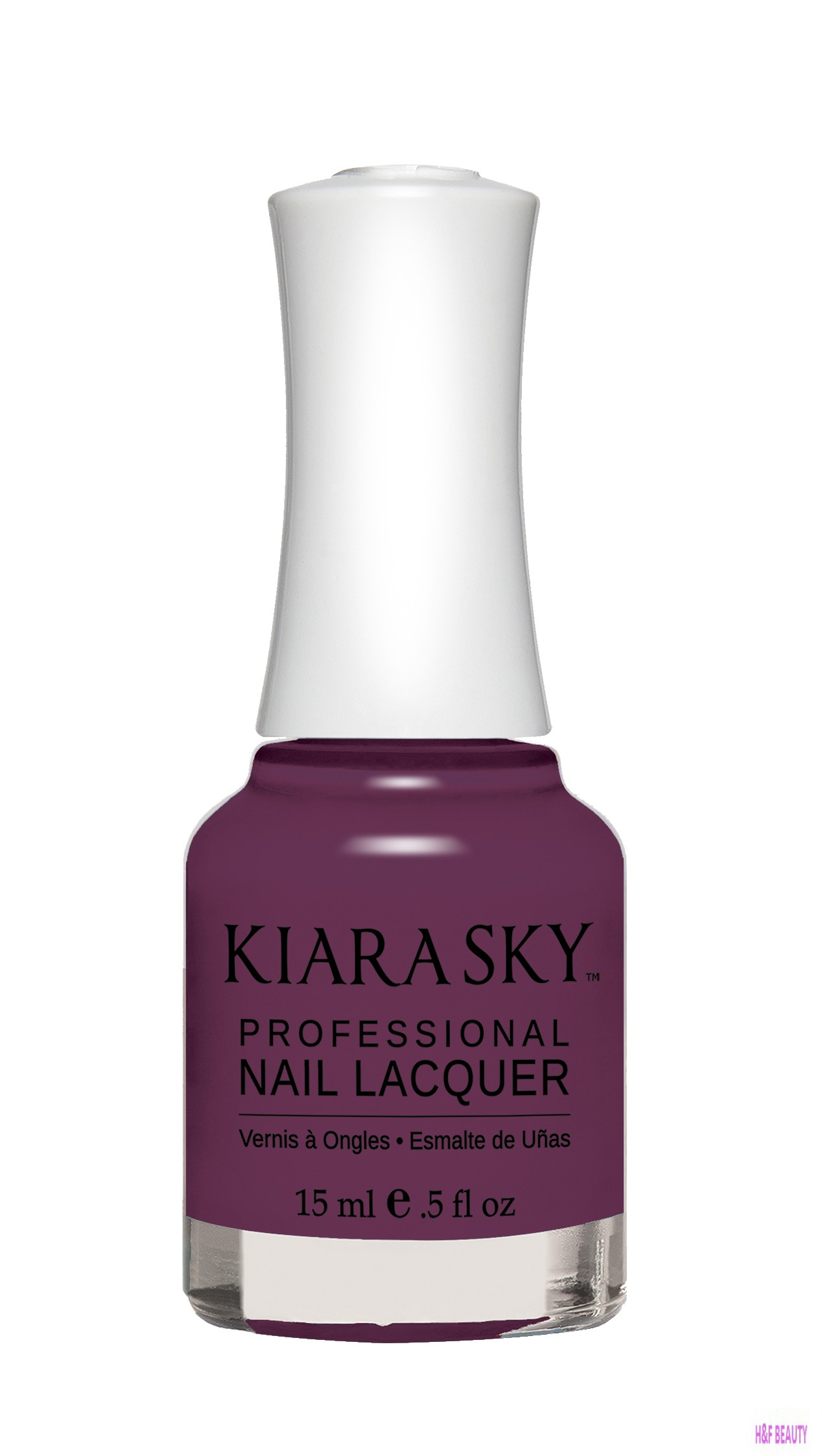 Kiara Sky NAIL LACQUER - N445 GRAPE YOUR ATTENTION