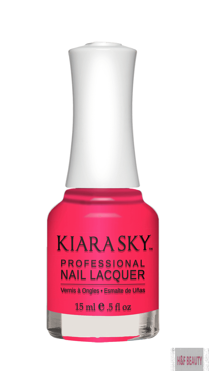 Kiara Sky NAIL LACQUER - N446 DONT PINK ABOUT IT