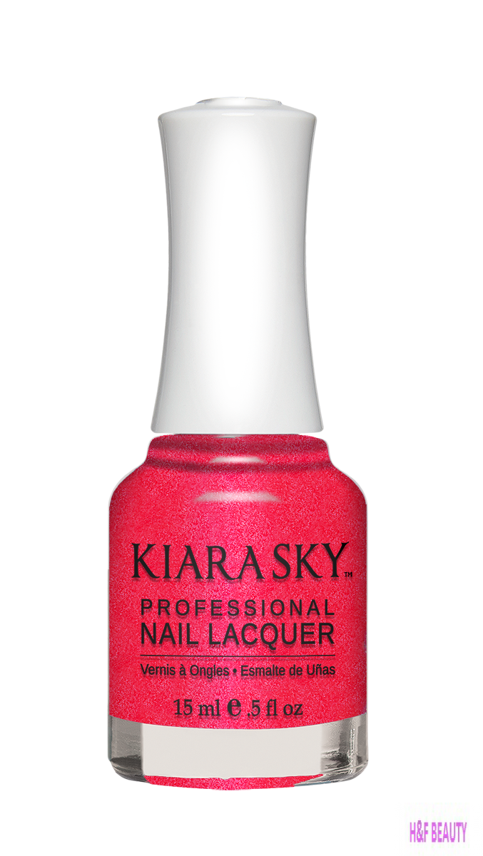 Kiara Sky NAIL LACQUER - N451 PINK UP THE PACE