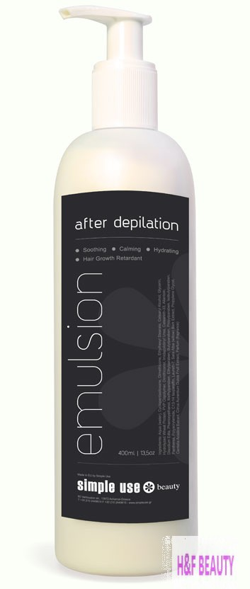 Simple Use Emulsion after Depilation